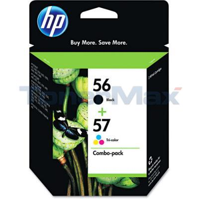 HP NO 56 57 INKJET PRINT CART CMYK COMBO PACK